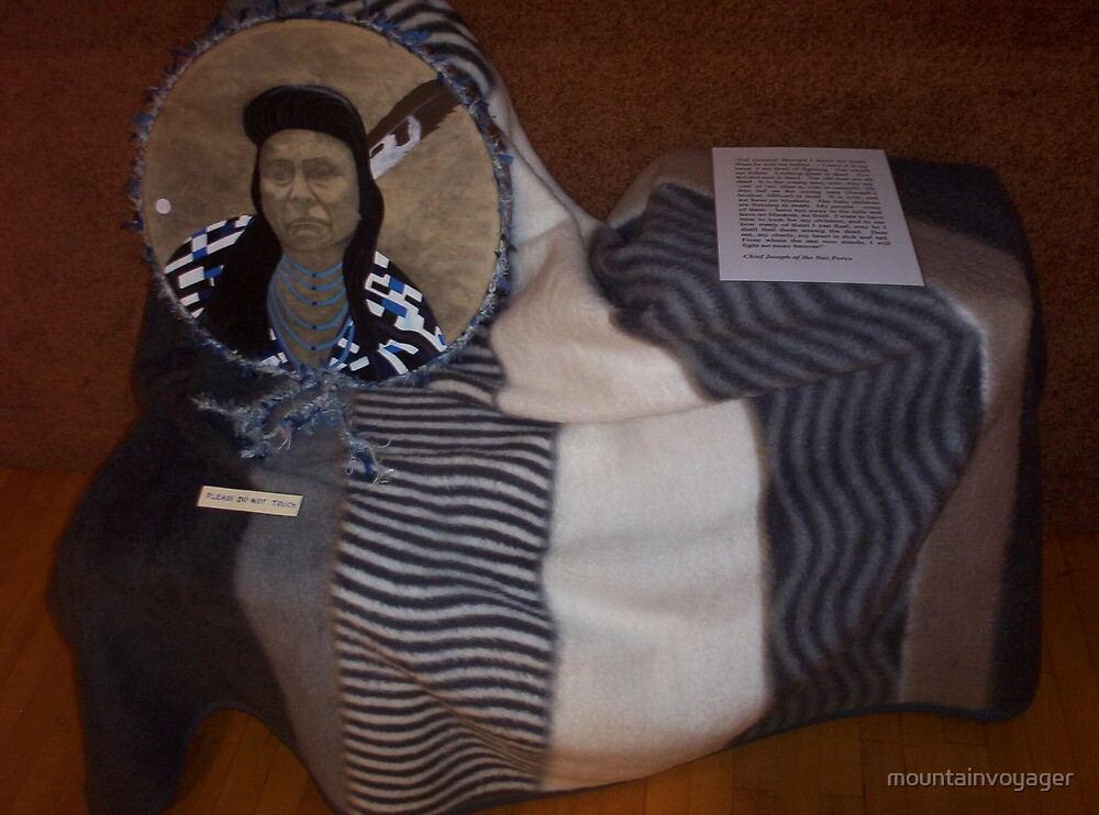 Chief Joseph, Of the Nez Perce Nation by mountainvoyager