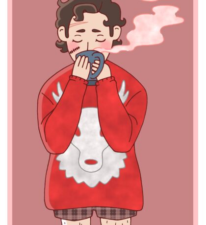 Ugly Sweater Will Graham Sticker