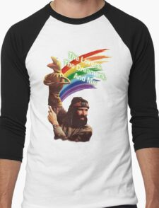 Jim Henson and Kermit Men's Baseball ¾ T-Shirt