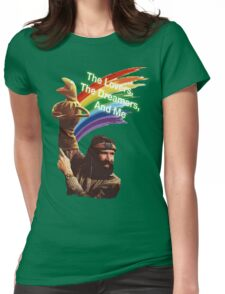 Jim Henson and Kermit Womens Fitted T-Shirt