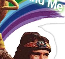 Jim Henson and Kermit Sticker