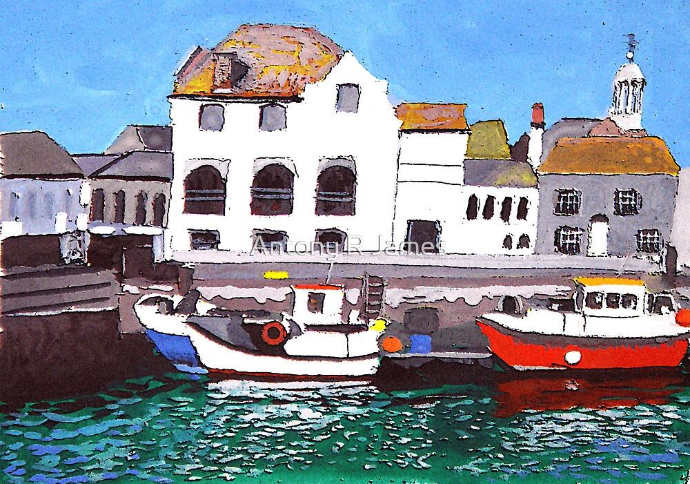 Weymouth scene by Antony R James