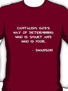 Capitalism Swanson T-Shirt