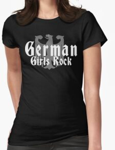 German Girls Rock Womens Fitted T-Shirt