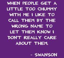 Chummy Swanson by ashedgreg