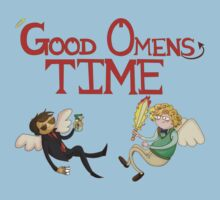 Good Omens Time! by NoodlyDoodles