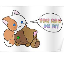 Motivational Kittens Poster