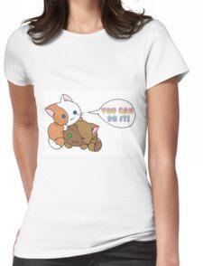 Motivational Kittens Womens Fitted T-Shirt