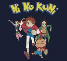 Pokemon + Ni No Kuni = Pokuni? Ninokémon? One Piece - Short Sleeve