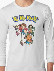 Pokemon + Ni No Kuni = Pokuni? Ninokémon? Long Sleeve T-Shirt