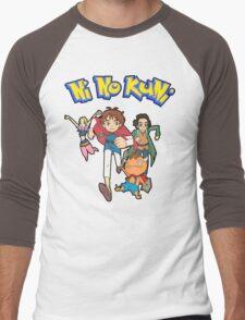 Pokemon + Ni No Kuni = Pokuni? Ninokémon? Men's Baseball ¾ T-Shirt