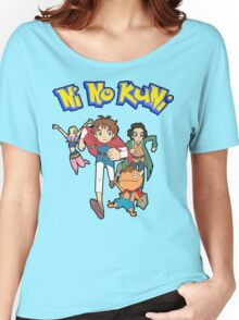 Pokemon + Ni No Kuni = Pokuni? Ninokémon? Women's Relaxed Fit T-Shirt
