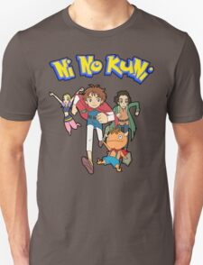 Pokemon + Ni No Kuni = Pokuni? Ninokémon? T-Shirt