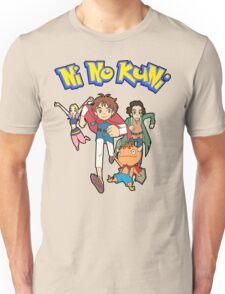 Pokemon + Ni No Kuni = Pokuni? Ninokémon? Unisex T-Shirt