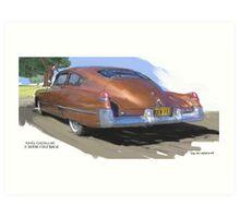 1949 Cadillac Fastback Art Print
