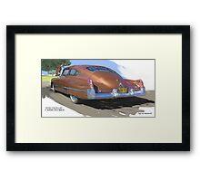 1949 Cadillac Fastback Framed Print