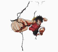 Luffy - Cracked Baby Tee