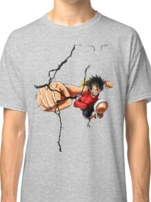 Luffy - Cracked Classic T-Shirt