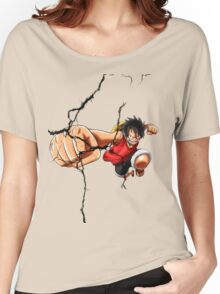 Luffy - Cracked Women's Relaxed Fit T-Shirt