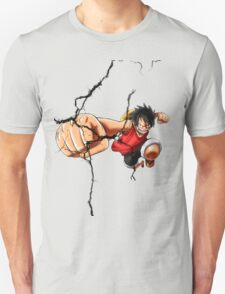 Luffy - Cracked Unisex T-Shirt