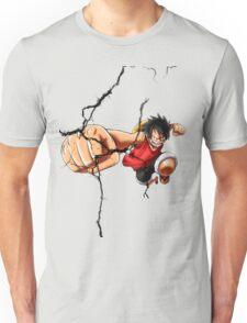 Luffy - Cracked Unisex T-Shirt