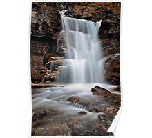 Tangle Waterfall Alberta Canada Jasper Highway cascade Poster