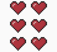8-Bit Love Heart ×6 by csyz ★ $1.49 stickers