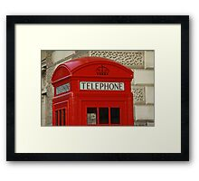 London Telephone Framed Print