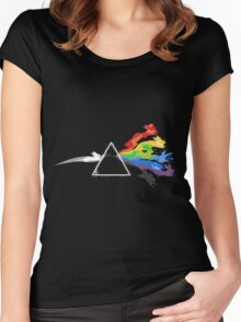 Pokemon Triangle Women's Fitted Scoop T-Shirt
