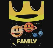 Solar System Family (to scale) by jezkemp