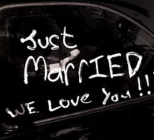 Just Married! by Brigitta Frisch