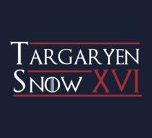 Targaryen/Snow '16 by mrsxandamere