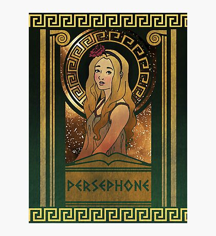Olympia Heights: Persephone Photographic Print