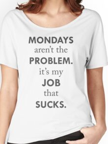 Mondays Women's Relaxed Fit T-Shirt