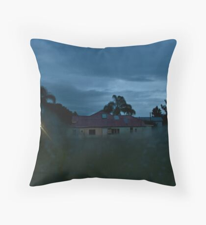 day of the obituary (memoriam) Throw Pillow