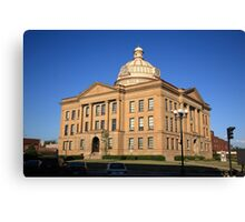 Lincoln, Illinois - Courthouse Canvas Print