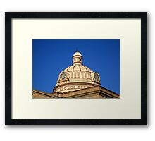 Lincoln, Illinois - Courthouse Dome Framed Print