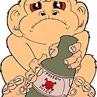 Drunken Monkey by IchiLouhan