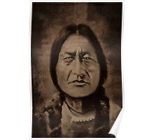 ✌☮ Ohkwari  Bear in Mohawk-Running Bear✌☮  Poster