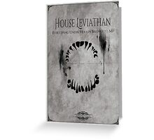 House of Leviathan Greeting Card