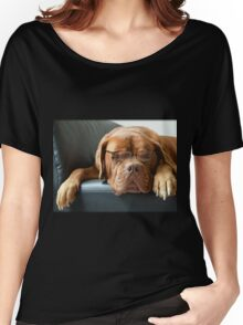 Bordeaux Dog Women's Relaxed Fit T-Shirt