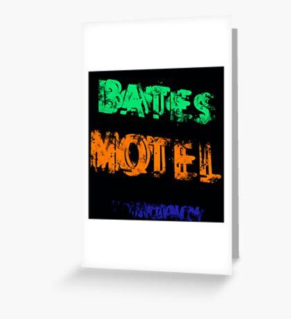 Bates Motel Greeting Card
