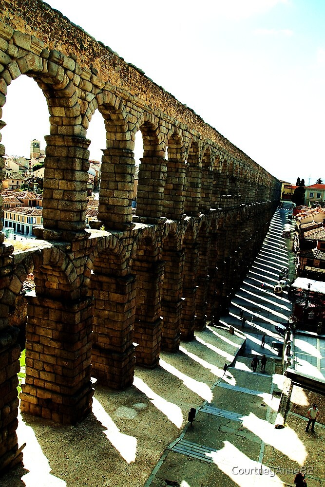 Segovia - edge of the old town by CourtneyAnne82