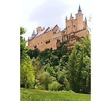 Castle in the sky - Alcazar, Segovia Photographic Print