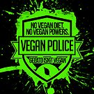 Vegan Police {White} by SamHumer