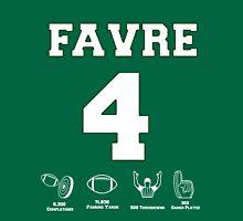 Brett Favre - Career Stats Unisex T-Shirt