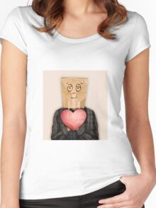 Looking for Love Women's Fitted Scoop T-Shirt