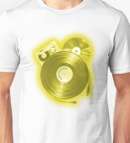Music (R)Evolution [yellow] Unisex T-Shirt