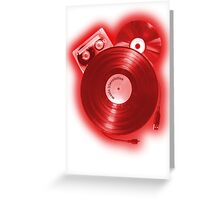 Music (R)Evolution [red] Greeting Card