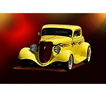 1934 Ford Coupe I Photographic Print